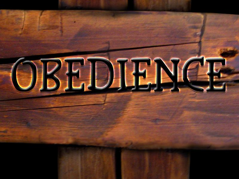 power and obedience Obedience is following and doing what god is saying and the voice of god can only be assessed through the word of god you can have insight into the word of god only by the power of the holy spirit.